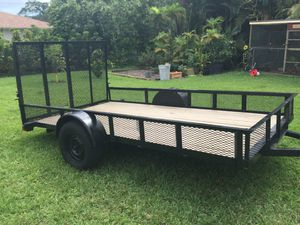 6' x 12' Trailer with Reinforced Ramp for Sale in Coconut Creek, FL