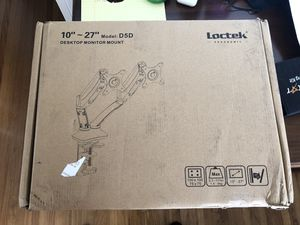 Loctek D5D Dual Monitor Mount for Sale in San Diego, CA