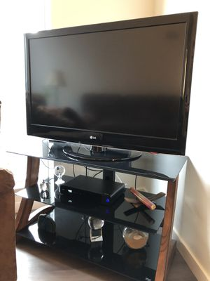"""42"""" Flat Screen TV and TV stand for Sale in Seattle, WA"""