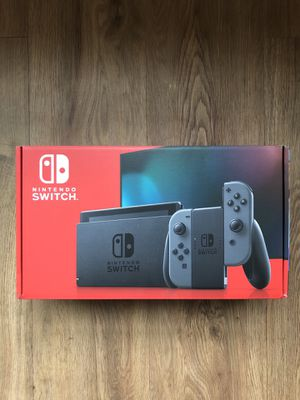 NEW Nintendo Switch Console 32GB Gray Joy-Cons V2 In Hand for Sale in Laurel, MD