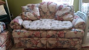 Pullout Couch and Love Sofa for Sale in Sterling, VA