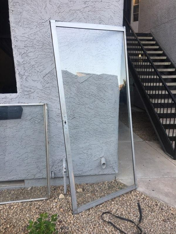 Single pane Windows and door