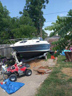 Bayliner boat and trailer for sale clean title for boat clean title for trailer asking 1200
