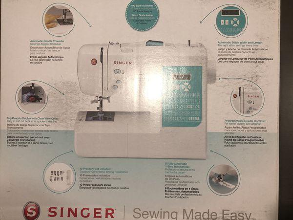 Singer 7258 Stylist Computerized 100-Stitch Sewing Machine