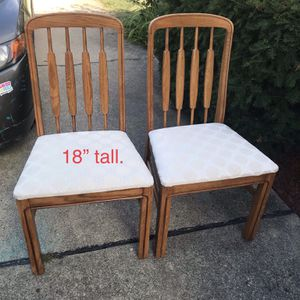 Chairs. for Sale in Des Plaines, IL