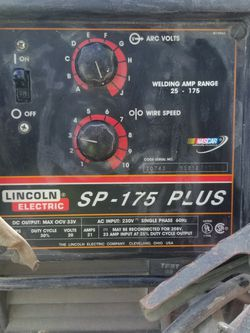 Lincoln Sp 175 Welding kit for Sale in Wood-Ridge,  NJ