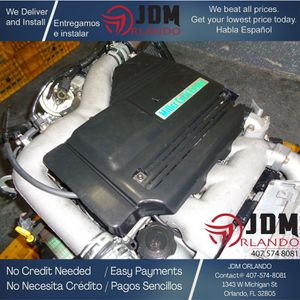 1998 1999 2000 MAZDA SUPERCHARGED 2.3L V6 ENGINE JDM KJ-ZEM for Sale in Orlando, FL