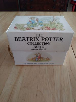 Beatrice Potter Collection Part II - $15 for Sale in Fresno, CA