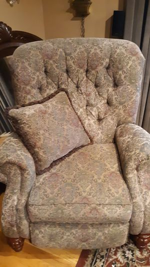 Ashley Recliner. Tapestry fabric in good condition. for Sale in Johnson City, TN