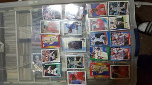 Vince coleman baseball card lot includes autograpg card for Sale in Brooklyn, NY