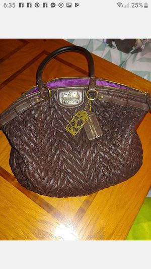 Limited edition 70th Anniversary leather Coach bag for Sale in Bartow, FL