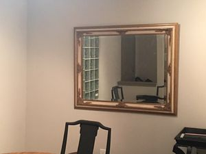 Mirror large gold for Sale in Atlanta, GA