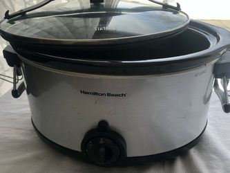 Two Crockpots available - 7 quart size- one is used, one is brand new in sealed box for Sale in Parsippany-Troy Hills,  NJ