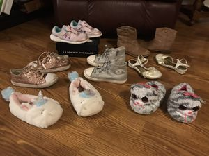 Toddler Girls Under Armour, Converse, Kenneth Cole, Boots and more Shoe Lot for Sale in Elk Grove Village, IL