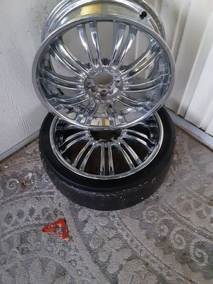 I have all 4 rims for Sale in Hemet, CA