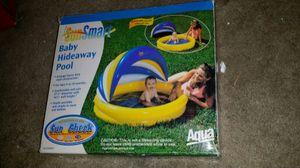 Sun smart baby hideaway pool for Sale in West Palm Beach, FL