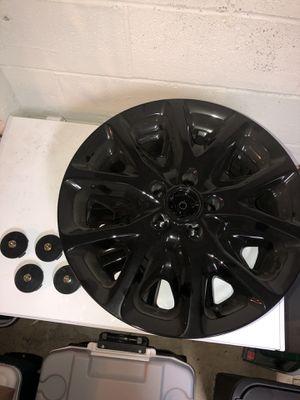 "Jeep Cherokee 17"" black wheel skins for Sale in Greensburg, PA"