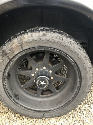 "22"" wheels and tires for Sale in Knoxville, TN"
