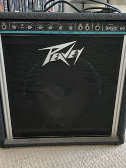 Peavey Basic 60 Amplifier for Sale in San Francisco,  CA