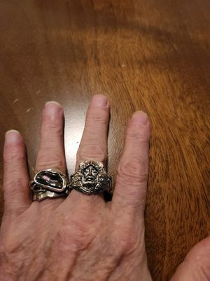 2 925 silver rings for Sale in Arnold, MO