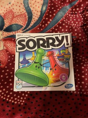 Sorry board game for Sale in Snohomish, WA