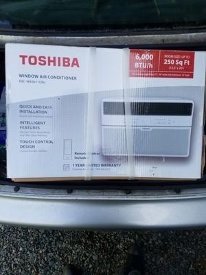 Toshiba window air conditioner for Sale in Lynnwood, WA