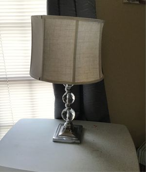 Crystal globe table lamps for Sale in Houston, TX