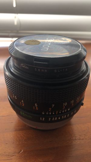 Canon F1.2 55mm wise angle lens. Vintage. for Sale in San Diego, CA