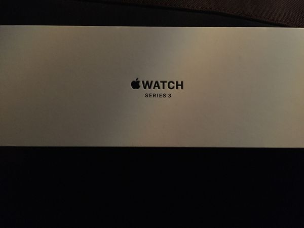 Apple Watch series 3 (GPS) 42 mm Space Gray