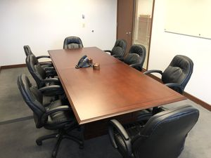 "Prestige 120"" Rectangular Conference Table, Mahogany for Sale in Everett, WA"