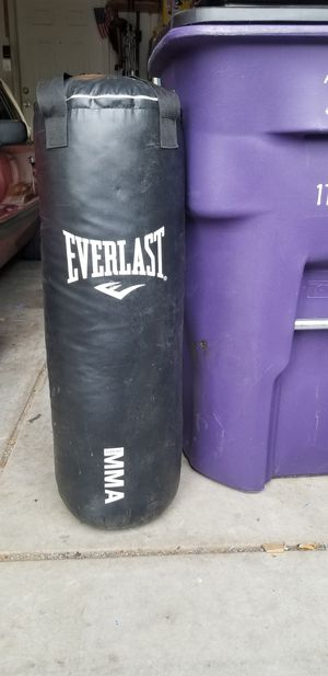 Everlast punching bag for Sale in Northglenn, CO