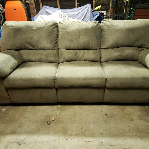 7 1/2 ft. Double Recliner Sofa