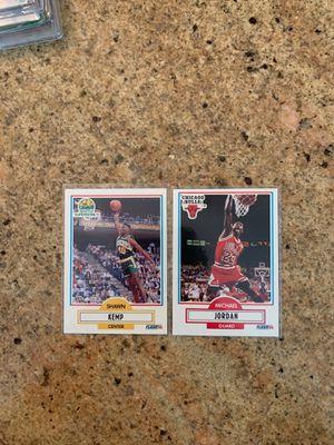 Michael Jordan & Shawn Kemp (Rookie) for Sale in Upland, CA