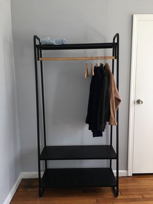 Urban Outfitters Clothing Rack Cameron Black for Sale in Brooklyn, NY