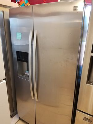 Side by side refrigerator for Sale in Houston, TX