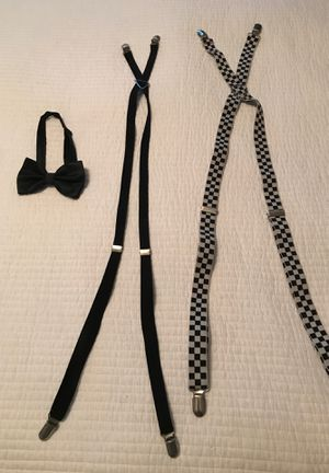 Suspenders and Bow tie for Sale in Chula Vista, CA