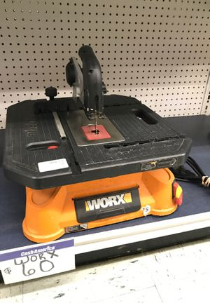 Worx table saw fcp2224 for Sale in Houston, TX