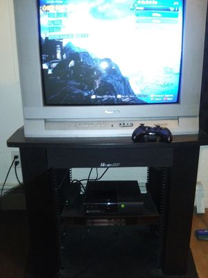 Great TV Stand w/ Built-in Speakers for Sale in Anchorage, AK