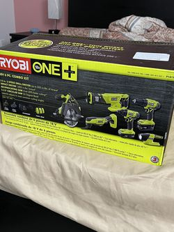 Ryobi 18v 6PC Tool Kit Brand New for Sale in Kirkland,  WA