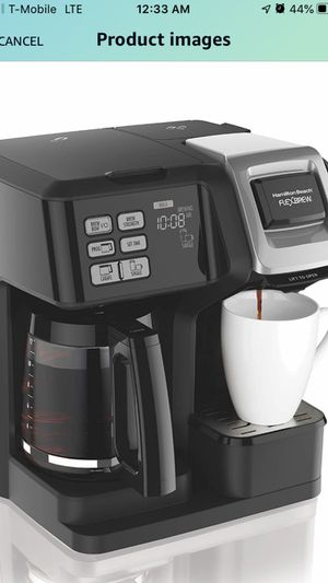 Hamilton Beach 49976 FlexBrew Coffee Maker, Single Serve & Full Pot, Compatible with K-Cup Pods or Grounds for Sale in Woodland Park, NJ