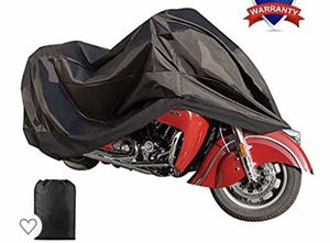 "Motorcycle Cover Waterproof Sunblock Dustproof Outdoor Garage Motor Cover with 3 Adjustable Buckles XXXL Fit up to 108"" Harley Davidson Honda Suzuki for Sale in Arlington, TX"
