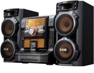 Sony LBT-ZX66i iPod/Radio Shelf Stereo Speaker System for Sale in Las Vegas, NV