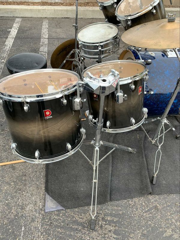 Drum Set. Used But In Good Condition