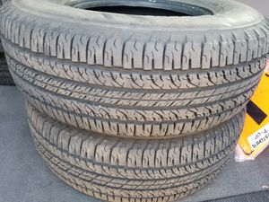 BF Goodrich Long Trail T/A 235/75/15 X load tires. Set of 4. for Sale in River Grove, IL
