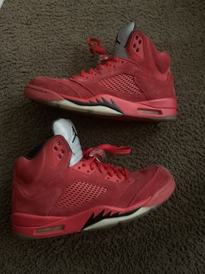 J5 red size 12 no box 50$ firm price !!!!!! for Sale in Orlando, FL