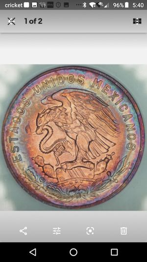 1965, Mexico, MS 65, Toned Coin for Sale in Homestead, FL