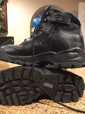 Tactical work boots woman's 7.5 for Sale in Melrose, FL