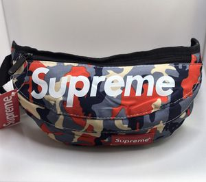 Supreme Fanny Pack (Camo Red/Tan/Gray) for Sale in Austell, GA