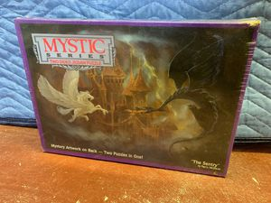 BRAND NEW Sealed - Mystic Series Two Sided Jigsaw Puzzle - 529 pieces for Sale in Fort Lauderdale, FL