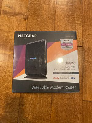 Nighthawk AC1900 WiFi Cable Modem Router for Sale in Mentone, CA